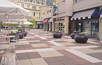 Hanover Roof and Plaza Pavers
